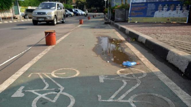 Jalur Sepeda di DKI Jakarta