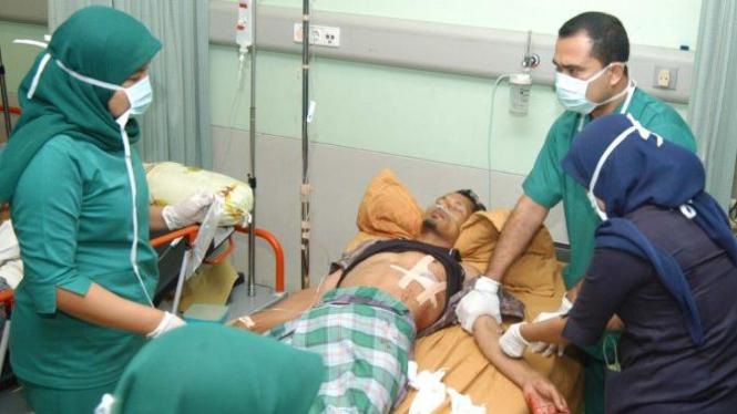 Korban penembakan di Aceh Besar