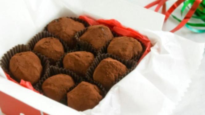 cokelat truffle