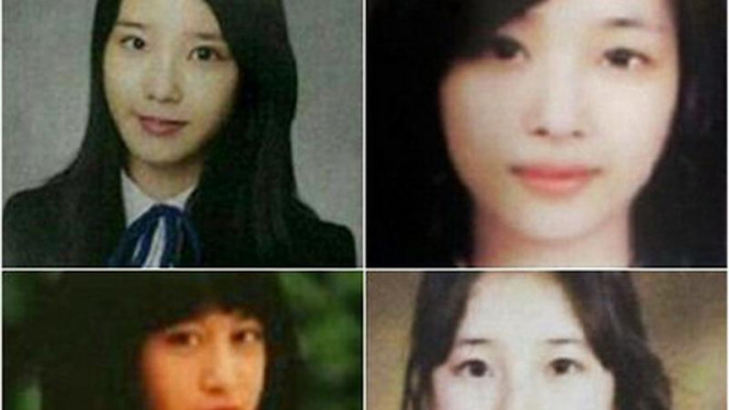 Wajah-wajah jadul artis Korea