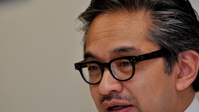Kunjungan Menteri Luar Negeri Marty Natalegawa
