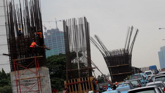 Pertumbuhan Ekonomi Indonesia 2011, Proyek Jalan Layang Non Tol