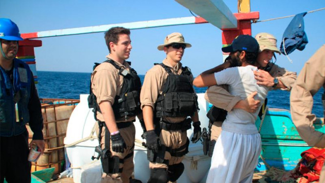 Pasukan AL AS selamatkan nelayan Iran dari perompak Somalia
