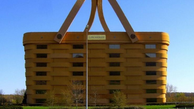 The Basket Building / Gedung Keranjang (Ohio, Ameika Serikat)