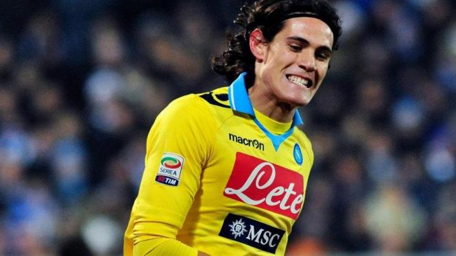 Striker Napoli, Edinson Cavani