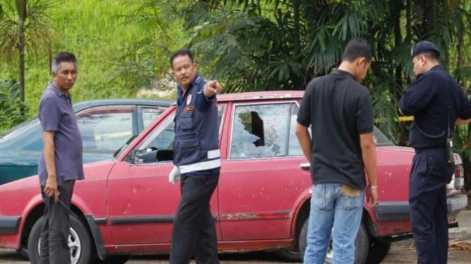 Polisi Malaysia periksa lokasi ledakan di Kuala Lumpur