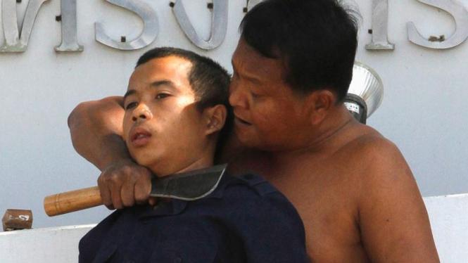 Drama penyanderaan di Thailand