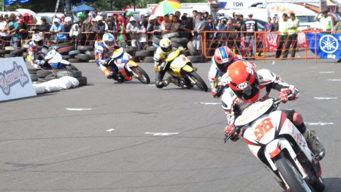 Jupiter Z di Yamaha Cup Race