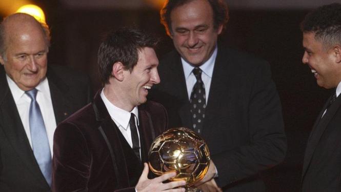 Lionel Messi Pemain Terbaik 2011