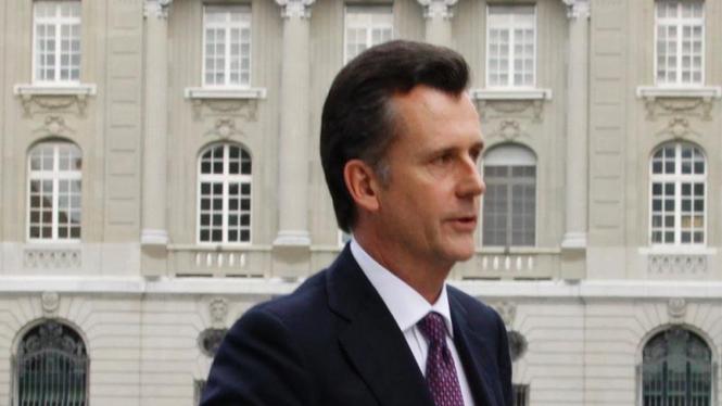 Gubernur Bank Sentral Swiss Philipp Hildebrand
