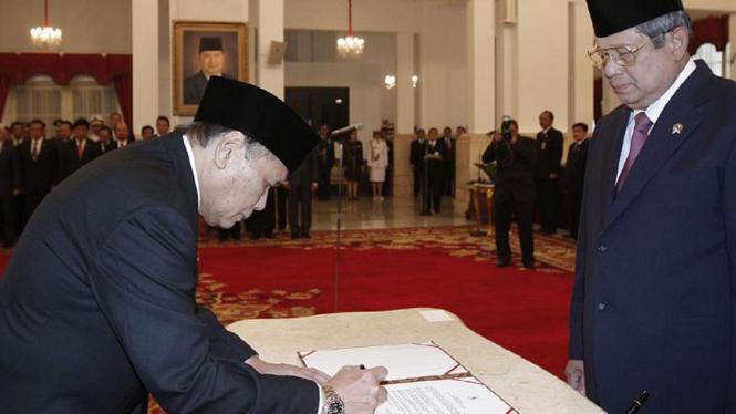 Albert Hasibuan dan Presiden SBY