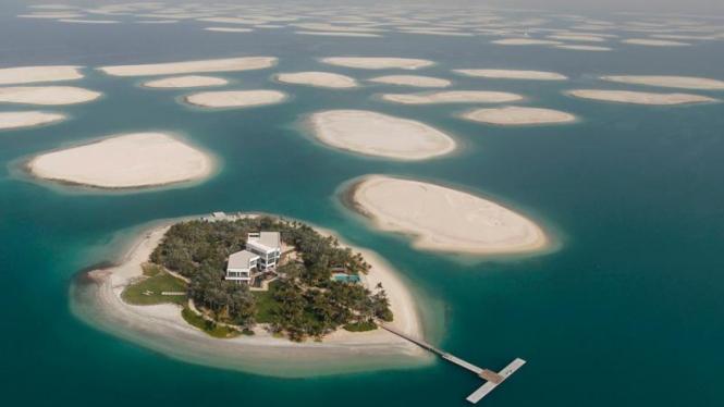The World Islands di Dubai