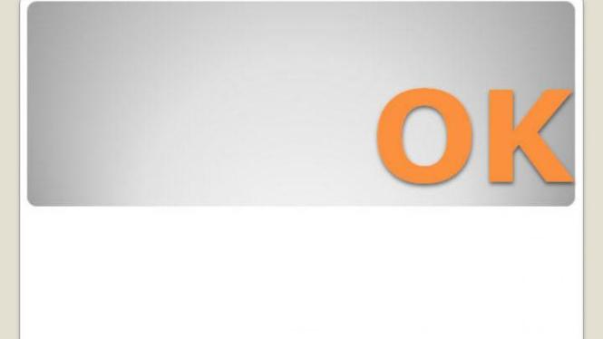 Simbol setuju 'OK'