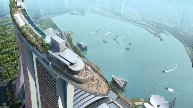 Marina Bay Sands Hotel Singapura