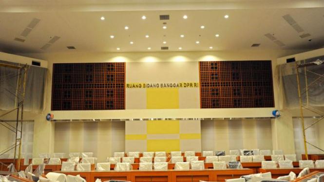 Ruang Rapat Baru Banggar DPR