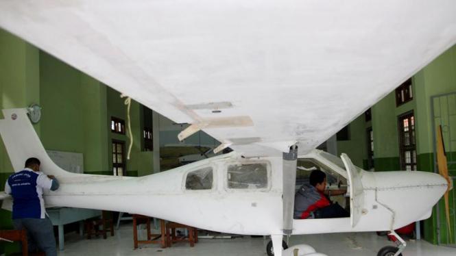 Pesawat Jabiru J 430 Karya Siswa SMK