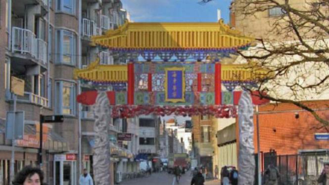 Den Haag, China town