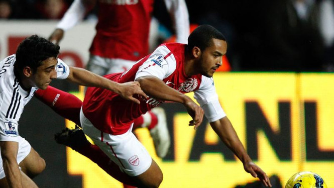 Arsenal Tumbang Dari Swansea City