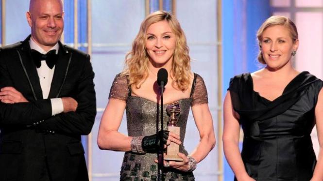 Madonna Golden Globe Awards 2012