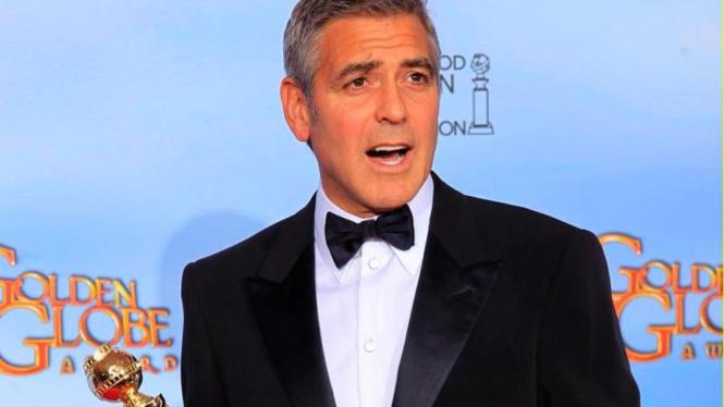 George Clooney Golden Globe 2012