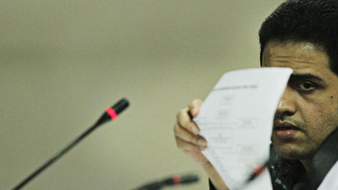 Mindo Rosalina Manulang Bersaksi di Sidang Nazaruddin