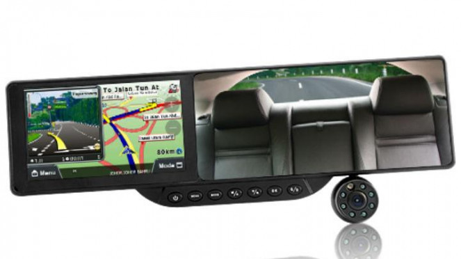Spiondalam mobil dilengkapi GPS