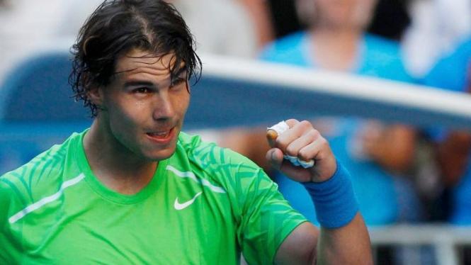 Rafael Nadal di Australian Open 2012