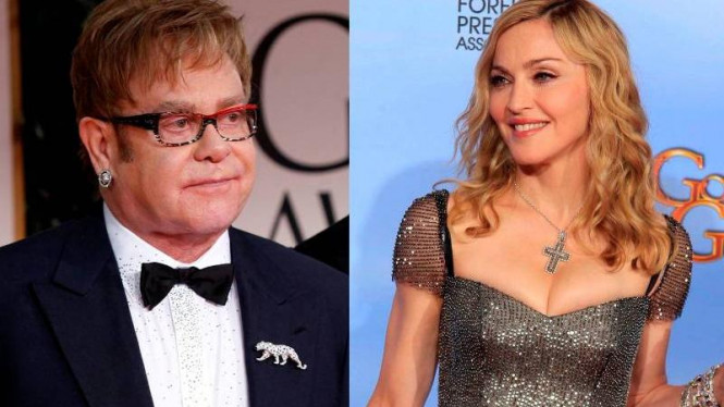 Elton John dan Madonna