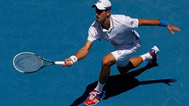 Novak Djokovic di Australian Open 2012