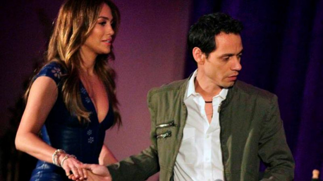 Jennifer Lopez dan Marc Anthony