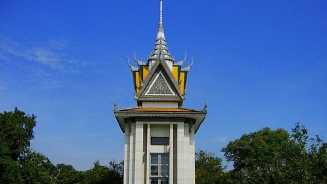 The Killing Fields of Choeung Ek, di Kamboja