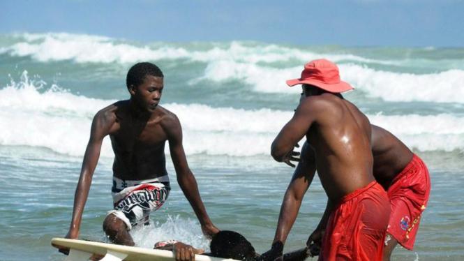 Insiden serangan hiu di Afrika Selatan
