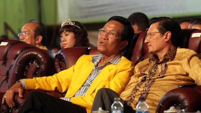 Sri Sultan HB X Saat Natal Nasional Partai Golkar 2011 di Kupang