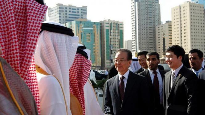 PM China Wen Jiabao berkunjung ke Uni Emirat Arab