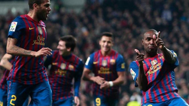 Barcelona Taklukkan Madrid di Piala Liga Spanyol