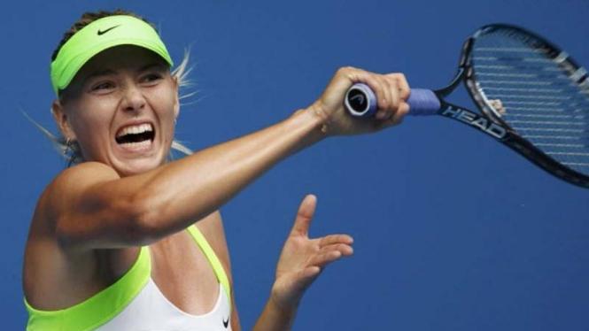 Maria Sharapova di Australian Open 2012