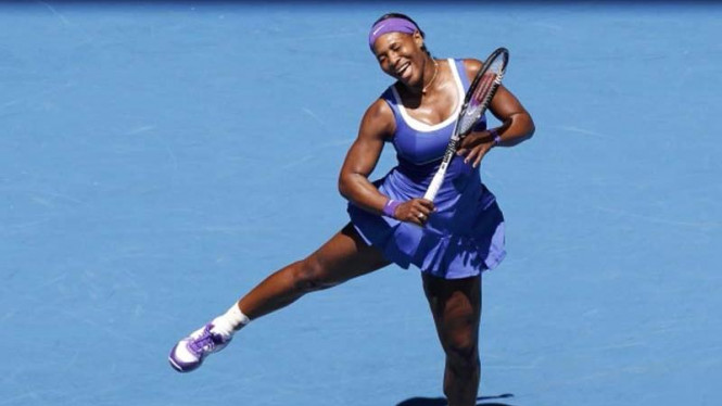 Serena Williams di Australian Open 2012