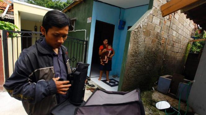 Bisnis jasa kurir ASI di Jakarta