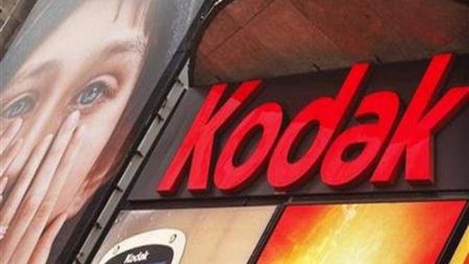 Iklan Kodak di Kota New York, AS