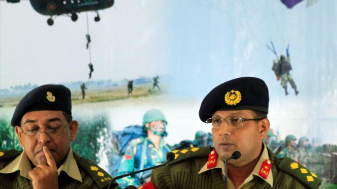 Juru bicara militer Bangladesh Muhammad Masud Razzaq