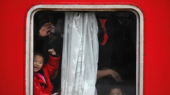 Mudik Imlek di China