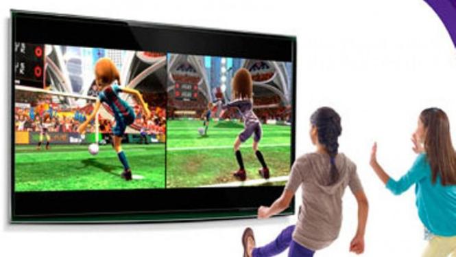 Ilustrasi penggunaan Kinect