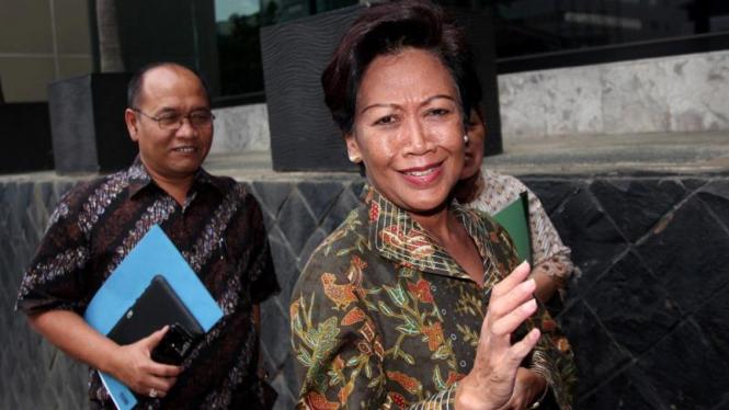 Sekjen DPR Nining Indra Saleh Melapor ke KPK