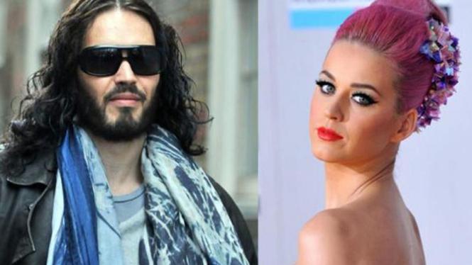 Katy Perry dan Russel Brand