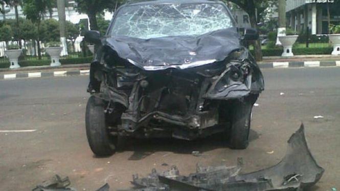 Mobil Xenia maut tewaskan 8 orang di Jalan Ridwan Rais, Jakarta