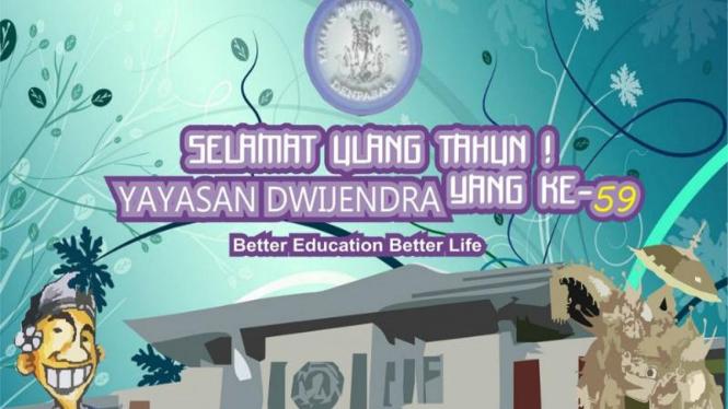 HUT Yayasan Dwijendra Bali