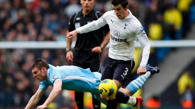 James Milner (Manchester City) vs Gareth Bale (Spurs)