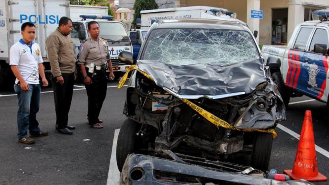 Mobil Xenia Yang Menewaskan Sembilan Orang di Tugu Tani