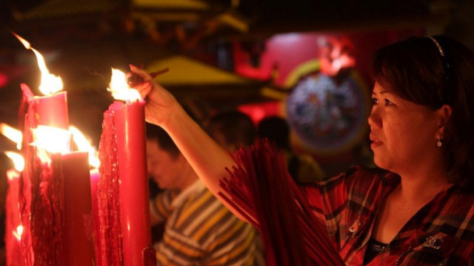 Perayaan Tahun Baru Imlek 2563 di Jakarta