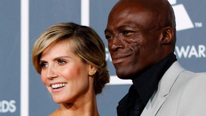 Seal dan Heidi Klum - Reuters